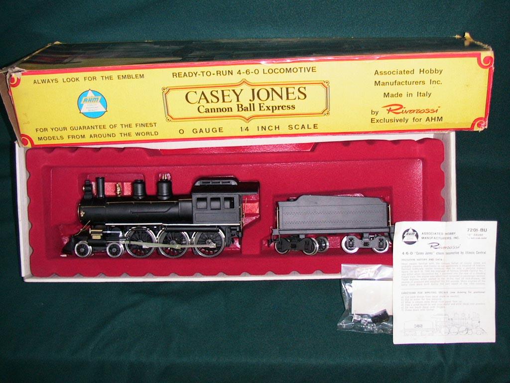 AHM-Rivarossi Casey Jones Genoa O Scale Locomotive Lot